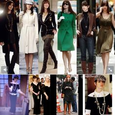 Anne Hathaway makeover in Devil Wears Prada. Have and always will love these outfits. Estilo Da Anne Hathaway, Anne Hathaway Style, Trend Fashion, Autumn Fashion, Fashion Looks, Prada Outfits, Fashion Outfits, Prada Dress, Ladies Fashion