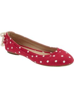 Canvas flats, Old Navy, only $25. - Yup, buying these
