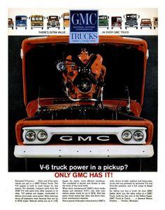 1963 GMC Pickup Ad