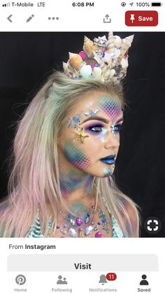 Korallenriff Kostüm selber machen Inspiration, all accessories and a make-up guide so you can make your own coral reef costume. Halloween Makeup Looks, Halloween Looks, Halloween Costumes, Halloween 2020, Halloween Nails, Halloween Recipe, Women Halloween, Halloween Projects, Halloween Party