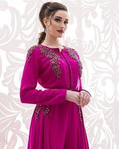 caftan de luxe haute couture robe dress Morrocan Dress, Kaftan Moroccan, Style Oriental, Oriental Fashion, Beige Dresses, Prom Dresses, Hijab Fashion, Fashion Dresses, Hijab Style
