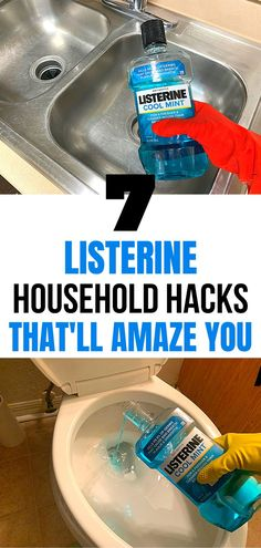 Diy Cleaning Products, Cleaning Hacks, Household Cleaning Tips, House Cleaning Tips, Homemade Products, Cleaning Supplies, Yellow Underarm Stains, Mouthwash, Cleaning