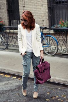 love this look and colour combo