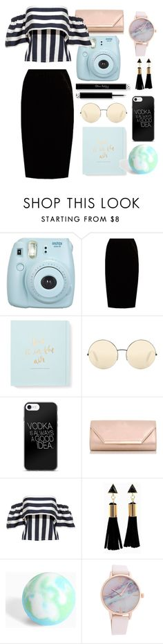 """""""Untitled #84"""" by shamamii-xx ❤ liked on Polyvore featuring Fujifilm, Jupe By Jackie, Kate Spade, Victoria Beckham, Dorothy Perkins and Torrid"""