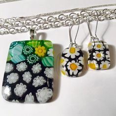 CYBER MONDAY DEALS available all week at https://www.facebook.com/MissOliviasLine Handmade, fused glass jewelry by Miss Olivia's Line. #MOL