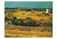 Field Art Print by Vincent Van Gogh