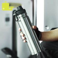 750ml large capacity stainless steel thermos portable vacuum with rope – Creationsg Sous Vide, Portable Vacuum, Stainless Steel Thermos, Vacuum Flask, Insulated Tumblers, Vacuums, Insulation, Coffee Maker, Water Bottle