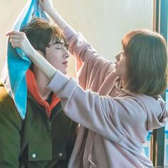 """Find and save images from the """"Dramas & Movies"""" collection by L-Queen ❤ (LoveKpopL) on We Heart It, your everyday app to get lost in what you love. Weightlifting Fairy Kim Bok Joo Scene, Weightlifting Fairy Kim Bok Joo Wallpapers, Weightlifting Kim Bok Joo, Live Action, Weighlifting Fairy Kim Bok Joo, Nam Joo Hyuk Lee Sung Kyung, Swag Couples, Kim Book, W Two Worlds"""