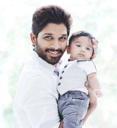 Allu Arjun with his Son Ayaan