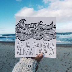 Discover recipes, home ideas, style inspiration and other ideas to try. Wind Surf, Photo Grid, Frases Tumblr, Lettering Tutorial, Some Quotes, More Than Words, Carpe Diem, Good Vibes, Positive Quotes