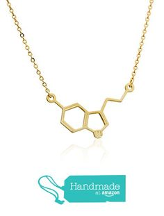 Molecule Necklace, Science Chemistry, Gold Necklace, Pendant, Jewelry, Gold Pendant Necklace, Jewlery, Jewerly, Hang Tags