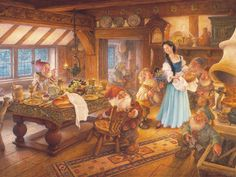 snow white kitchen - Google Search