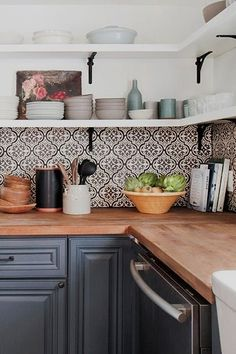 Sure, you could go for a sexy new oven or fancy, custom cabinetry. But as far as we're concerned, the backsplash is th ..