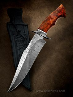 Fighter 9 - display this album Forged Knife, Damascus Knife, Damascus Blade, Swords And Daggers, Knives And Swords, Bushcraft, Knife Template, Knife Patterns, Knife Art