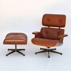 #Eames Lounge Chair & Ottoman XL Palisander / Brandy von #Vitra