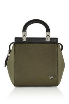 Mini House de Givenchy bag in textured-leather #accessories #givenchy #designer #covetme