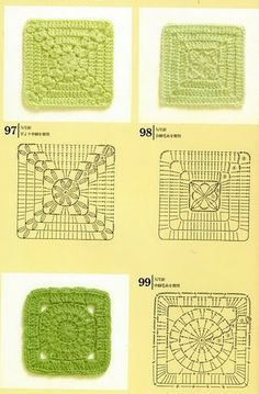 Collection of patterns for Granny Squares