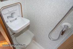 RV Shower Toilet Combo Kit | RV Toilet Shower Sink Combination ...