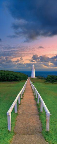 Cape Ottway Lighthouse, sereno camino hacia la mar