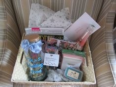 engagement gift basket for a friend! love! <3