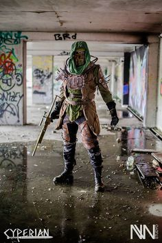 Raider (with Cage Armor - Fallout 4) Cosplayer: Cyperian Photography: NW StudYo