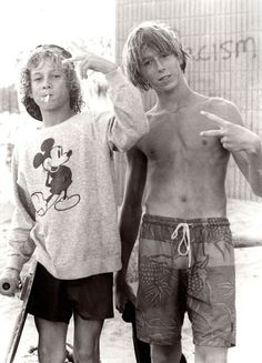 Venice Beach, 1970s.  I had an 80s Mickey shirt like that.  I would still rock it at 27.