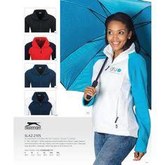 Micro Fleece Full Zip Ladies Golf Shirts, Shirt Outfit, Rain Jacket, Windbreaker, Zip, Lady, Coat, Jackets, Clothes