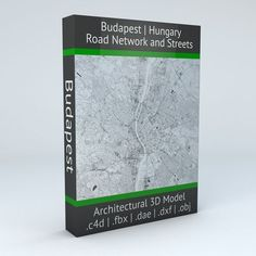 Budapest Road Network and Streets | 3D model