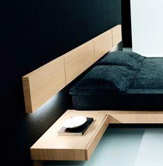 Hotel Bedroom Design, Modern Bedroom Design, Home Room Design, Home Decor Bedroom, Home Interior Design, Contemporary Bedroom, Wood Bed Design, Bed Frame Design, Bed Furniture