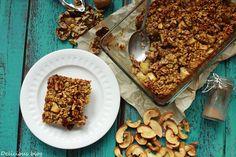 Delicious blog: Pečená jablečná kaše Cereal, Breakfast, Blog, Blogging, Breakfast Cereal, Corn Flakes, Morning Breakfast