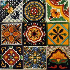 W140-9-Mexican-Talavera-Tiles-Ceramic-Folk-Art-Wall-Mosaic-4