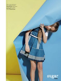 Anya from Sugar Kids for Marie Claire Enfants by Achim Lippoth.