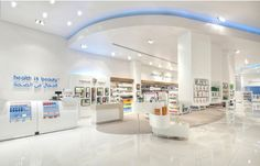 WAN INTERIORS:: Bin Sina Pharmacy Mall of the Emirates by Brand Creative in Dubai, United Arab Emirates