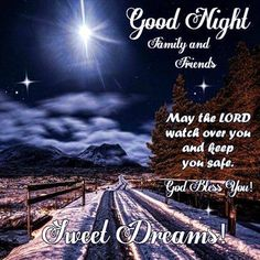 Good Night, God Bless You!