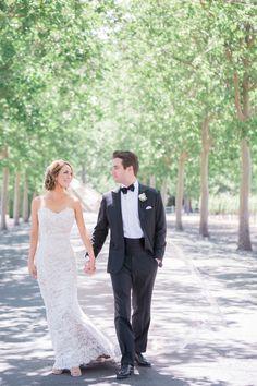 Wedding Dress: Anna Maier - http://www.stylemepretty.com/portfolio/anna-maier Photography: Lori Paladino Photography - loriphoto.com   Read More on SMP: http://www.stylemepretty.com/2016/09/09/italian-style-garden-wedding-in-napa/