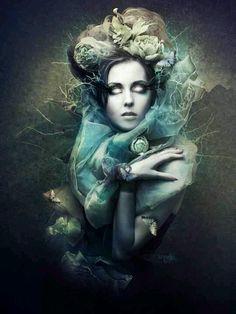 Gothic fantasy art