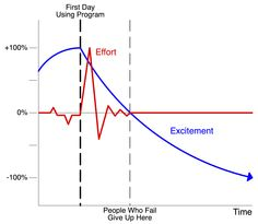 Effort and Excitement - failure in the transition to BIM