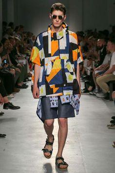 MSGM | Spring 2015 Menswear Collection | Style.com