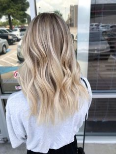 Babylights Blonde, Hair Color Balayage, Blonde Highlights, Beige Blonde Balayage, Blonde Foils, Chunky Highlights, Caramel Highlights, Color Highlights, Ombre Hair Color
