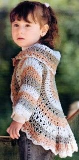 crochet shrug, free pattern, RUS