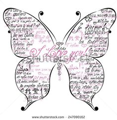 Beautiful butterfly in flourish style for invitation card or beautiful butterfly in flourish style for invitation card or banner design paper images4 butterflies pinterest banners butterfly and quilling stopboris Image collections