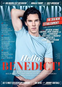 Benedict Cumberbatch for Vanity Fair