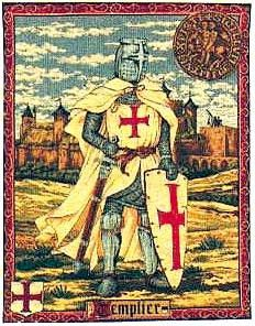 Le Chevaliers - The Knights Woven Tapestry Medieval Tapestries What an incredible work of art! This is a large tapestry wall hanging woven in Belgium and measuring in at 79 inches wide and nearly a ya