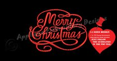 Merry Christmas Embroidery Design-Christmas Embroidery-Santa