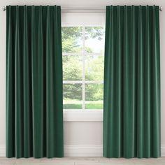 Conifer Green Curtain Panel