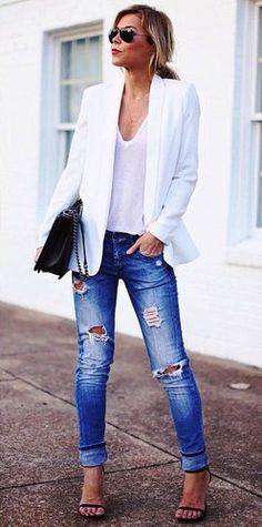 Love the whole outfit. Could use a nice v neck white t.