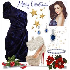 """""""Christmas Outfit 2"""" by veradediamant on Polyvore"""