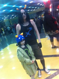 thischick25:  trainedbrofessional:   u-ok:   She was so TINY OMG   melts into a puddle   OH! It's Wyatt being Equius, and the tiny Nepeta c...
