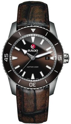 Rado Watch HyperChrome Captain Cook #add-content #basel-17 #bezel-unidirectional #bracelet-strap-leather #brand-rado #case-material-titanium #case-width-45mm #date-yes #delivery-timescale-call-us #dial-colour-brown #discount-code-allow #gender-mens #luxury #movement-automatic #new-product-yes #official-stockist-for-rado-watches #packaging-rado-watch-packaging #style-dress #subcat-hyperchrome #supplier-model-no-r32501305 #warranty-rado-official-2-year-guarantee #water-resistant-200m
