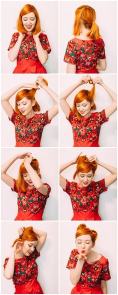 Easy victory rolls (click through for the full tutorial)